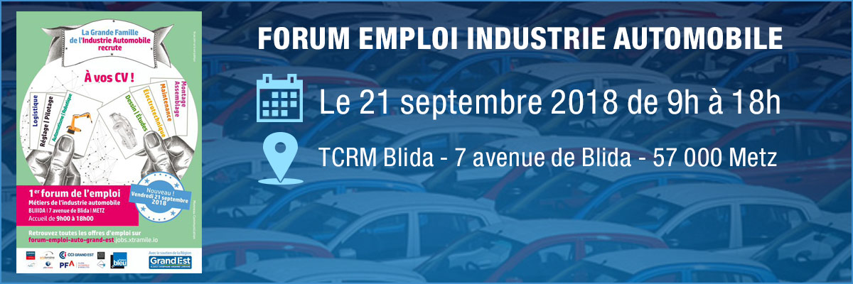 Forum emploi - industrie automobile