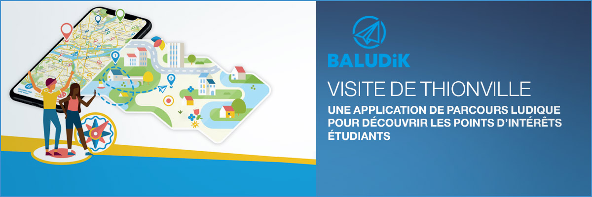 Baludik - application découverte Thionville