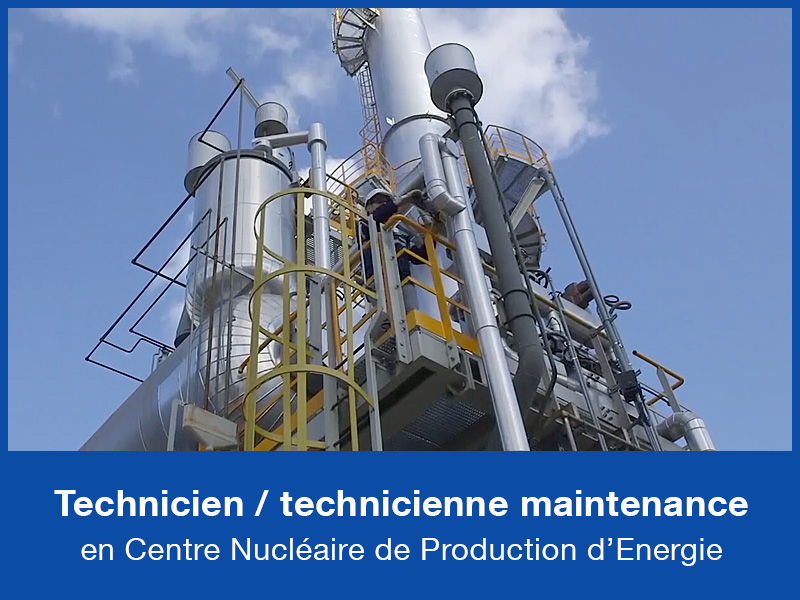 Technicien - Technicienne de maintenance